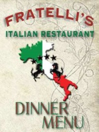 fratellis italian dinner menu